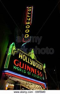 Neon sign marquee for the Los Angeles Theater on Broadway