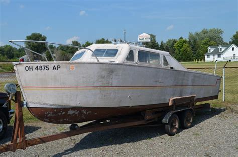 Aluminum Boats Cabin Cruiser by Mahogany Outfitters Classic Boats Bought Sold