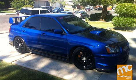 modified subaru modified subaru impreza wrx sti 2004 modified cars fun