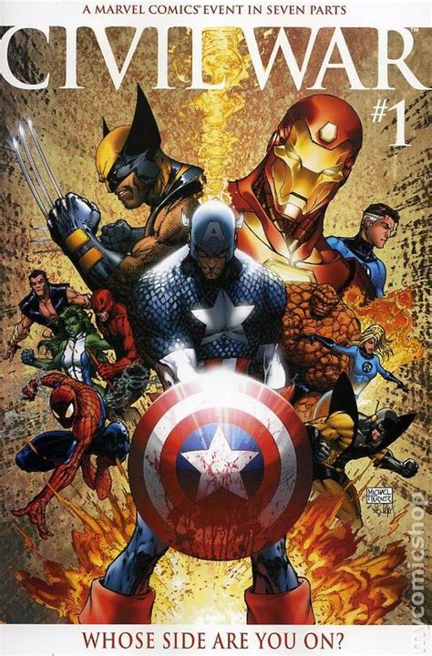 civil war  marvel comic books