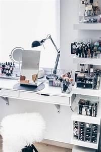 Ikea Regal Aufbewahrung : meine neue schminkecke inklusive praktischer kosmetikaufbewahrung lippenstift aufbewahrung ~ Sanjose-hotels-ca.com Haus und Dekorationen