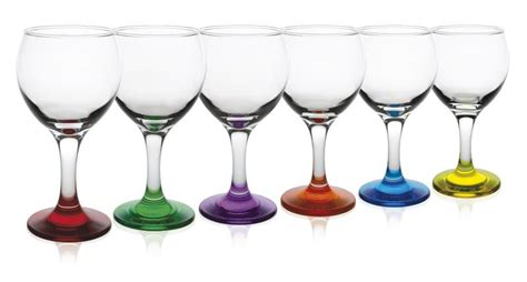 verre vin pied couleur verre ballon verre ballon vin pied couleur