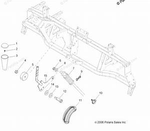 Polaris Side By Side 2007 Oem Parts Diagram For Gear