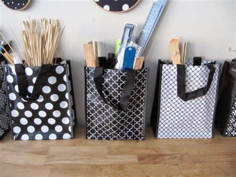 sew  ways cute shopping bags  great  storage