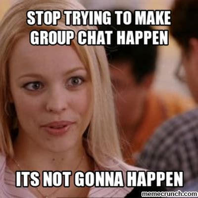 Group Chat Meme - group chat