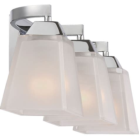 quoizel loft polished chrome    light bath