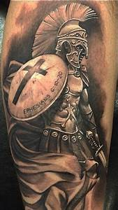 Spartan warrior tattoo for men #TattoosforMen | Tattoos ...