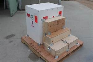 OT-shipping single pallet of scientific instruments CA to CT