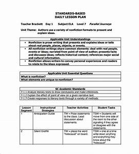 daily lesson plan template 12 free sample example With examples of lesson plan templates