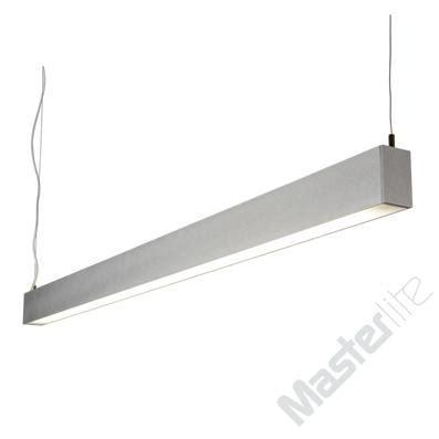 saxby lighting 10782 borat aluminium 2x35w t5 suspended