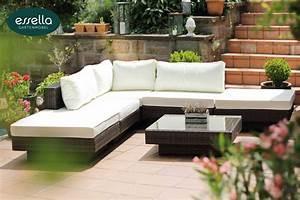 Polyrattan Sitzgruppe Braun : vorschau essella polyrattan lounge melbourne bicolor ~ Watch28wear.com Haus und Dekorationen