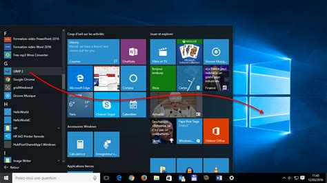 raccourci bureau windows 8 windows 10 créer un raccourci d 39 une application sur le