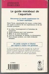 Livre   Le Guide Marabout De L U0026 39 Aquarium D U0026 39 Eau Douce  Henri Favre