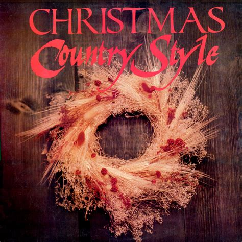 Christmas Country Style Three Record Set (p319622