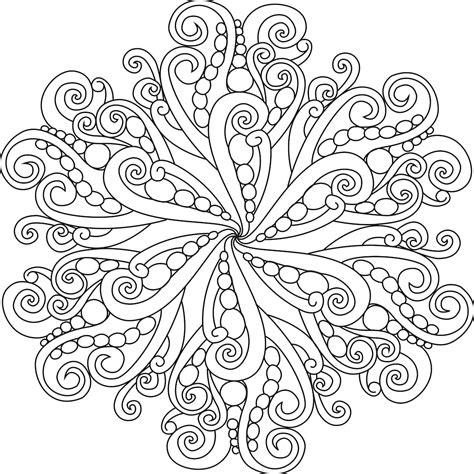 printable mandala coloring pages  adults