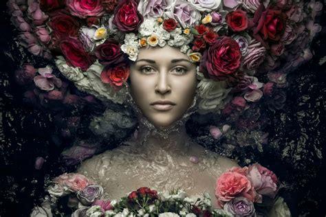 high speed beauty photography  evgeni kolesnik scene