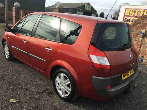 renault scenic mpv 2005 mk 2 1 5dci dynamique 5dr in renault 2005 grand scenic dynamique 1 6 16v only 44000 miles 7 seater