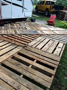 pallet deck pinterest google search camp moonan With pallet patio floor