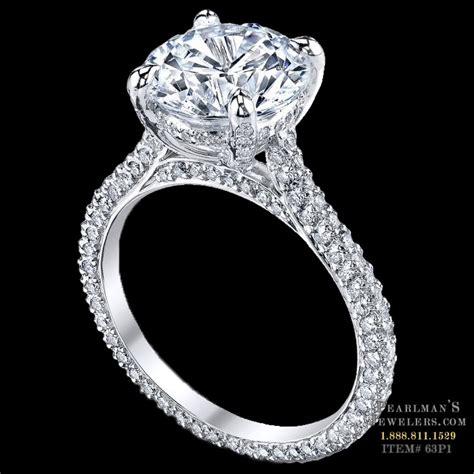 Michael B Jewelry Paris Engagement Ring