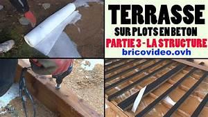 Terrasse Bois Sur Plot Beton : terrasse en bois composite sur plot en b ton arm partie 3 ~ Melissatoandfro.com Idées de Décoration
