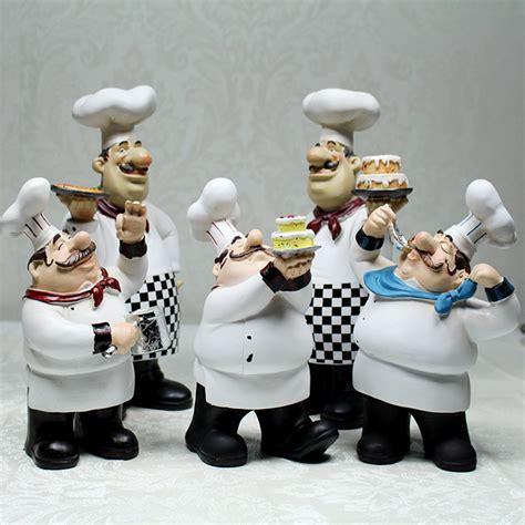 chef figurines kitchen decor aliexpress buy european cook ornaments creative