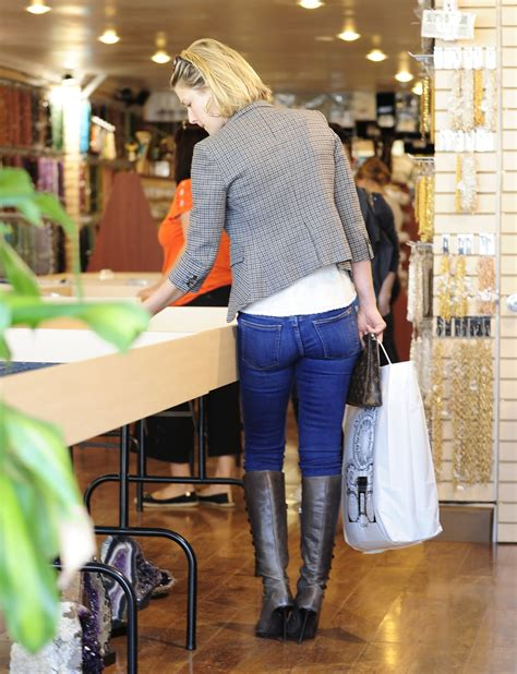 Jeans And Boots Celebrities In Jeans And Boots And Overknees