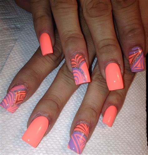 day  fun  neon nail art nails magazine