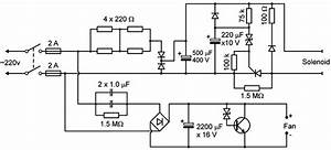 Circuit Diagram Of The Transformerless Power Supplies For