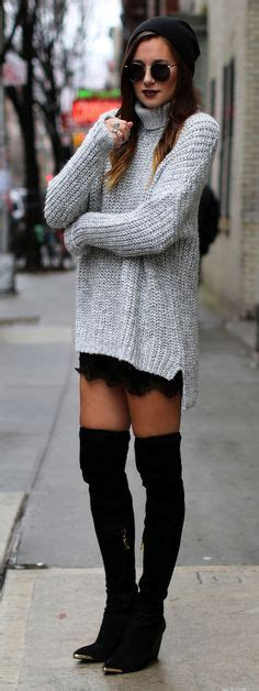 17 Best ideas about Tall Black Boots on Pinterest | Tall boots outfit Knee boots and Over knee ...