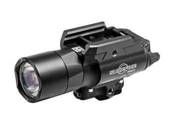 surefire laser light combo xdm surefire x400 gn 2 x cr123a 500 lumen led pistol light
