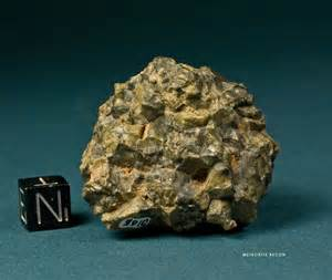 Heavy Non-Magnetic Meteorite
