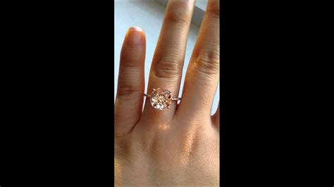 rosados box eloise morganite engagement ring youtube