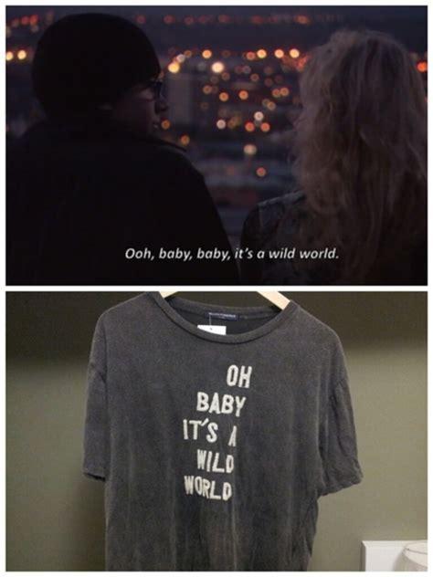 Oh Baby Its A Wild World Cat Stevens Celebrity T Shirt