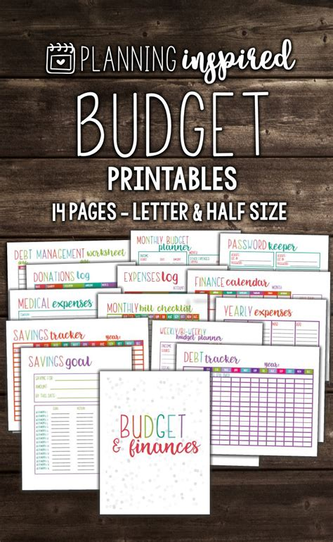 monthly budget planner ideas  pinterest
