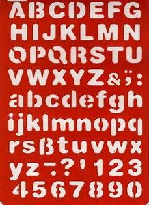Buchstaben Schablone Metall : buchstaben schablone abc druckschrift kreativ depot ~ Frokenaadalensverden.com Haus und Dekorationen