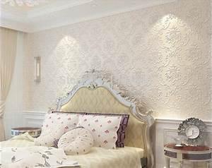 Papier Peint Chambre À Coucher : sublimez vos int rieurs en mettant un papier peint blanc ~ Nature-et-papiers.com Idées de Décoration