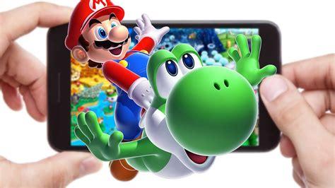 nintendo  entering  world  mobile games geek insider