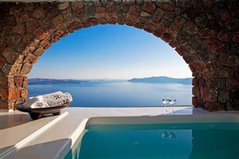 Beautiful Ocean Views Santorini Greece Travels Pinterest