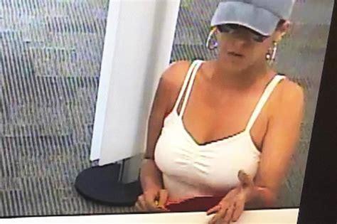 fbi hunts pink lady bandit  string  bank