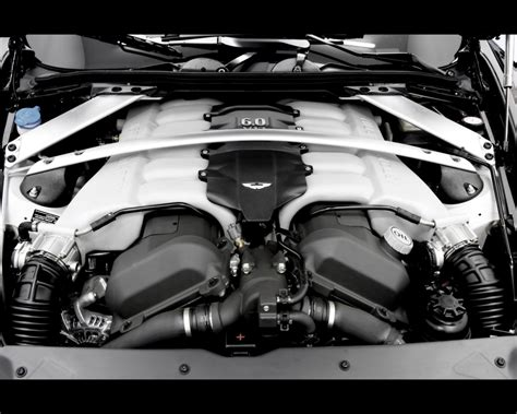 1280x1024 Aston Martin Db9 Convertible Engine 2 Desktop Pc
