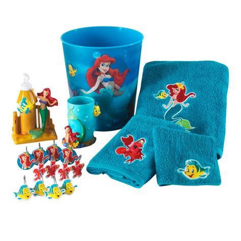 disney little mermaid waste basket