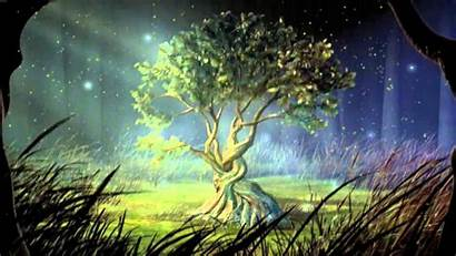 Wallpapers Mystical Animated Mystic Tree Moonlight