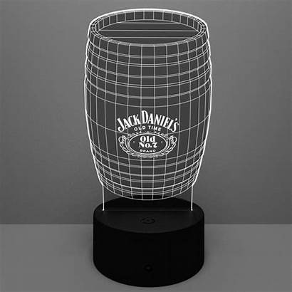 Lamp Led Barrel Double Cut