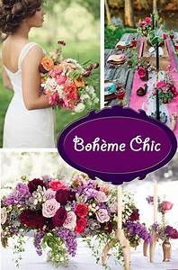 Chic Et Champetre : choisir son th me de mariage boh me hippie chic et champ tre rose 39 tea ~ Melissatoandfro.com Idées de Décoration