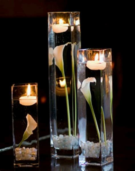 calla lily table l floating calla lily centerpiece manualidades pinterest