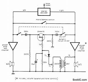 Fm Noise Suppressor - Basic Circuit