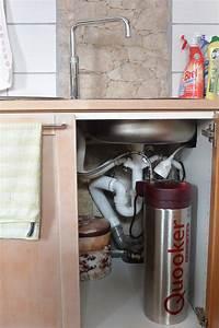 Wasserhahn Kochendes Wasser Preis : quooker der kochend wasser hahn der fusion square pro3 vaq installation und die ersten 4 ~ Frokenaadalensverden.com Haus und Dekorationen