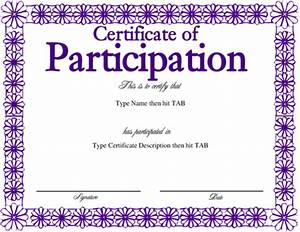 free templates for certificates of participation - free girl scout certificate templates just b cause