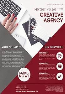 Advertising Resume Templates Creative Agency Flyer Psd Template By Elegantflyer