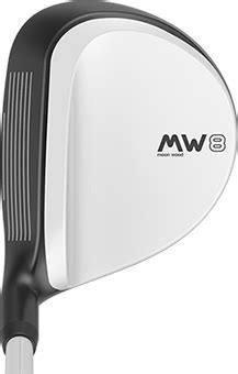 Moon Wood 8 | 7-Iron Control with Fairway Wood Distance